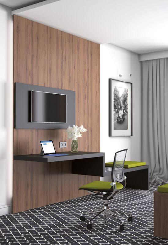 Systemy meblowe Szczecin: Wyposażenie hoteli   Meble NOX
