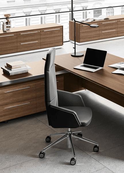 Projekty wyposażenia wnętrz biurowych wykonujemy zuwzględnieniem potrzeb klienta
