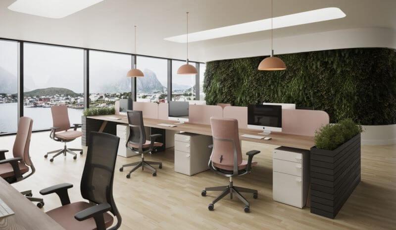 Oferujemy Państwu nowoczesne krzesła biurowe, których zaletą jest odpowiednia waga i gabaryty oraz