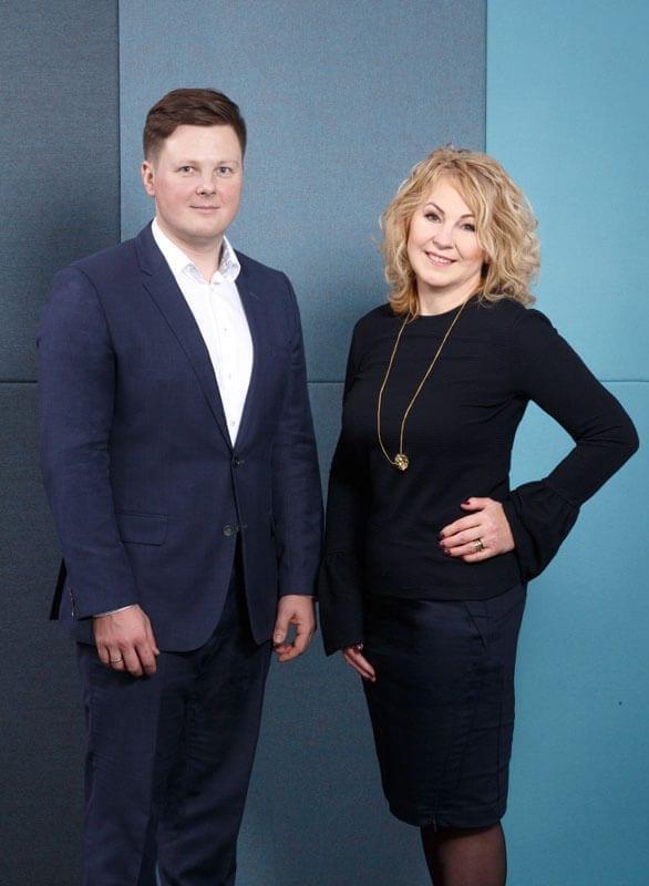 Stecko Meble to firma rodzinna - na zdjęciu właściciele Gabriela i Andrzej Stecko