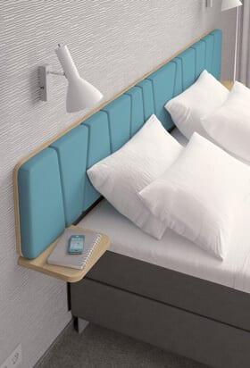 Oferujemy zestawy mebli hotelowych, łóżka hotelowe, loże, krzesła iakcesoria